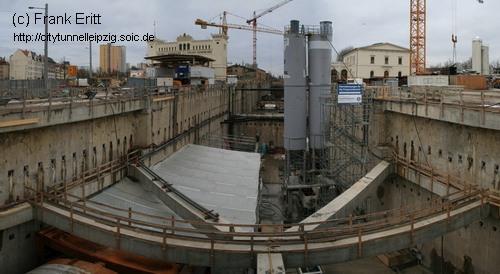 Baugrube Nord - Blickrichtung Süden