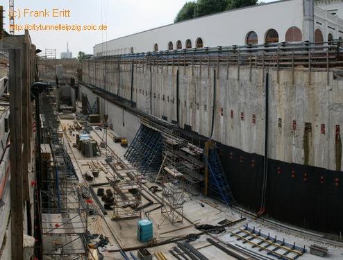 Bauabschnitt 3 - Blick nach S�den