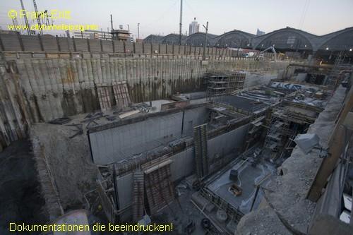 Baudock II - Blick nach S�den