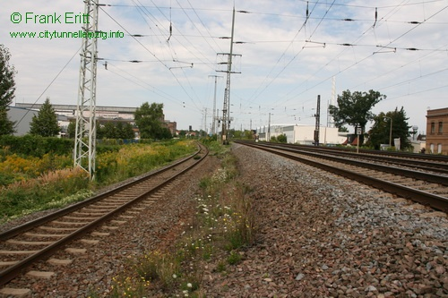 Gleisbereich Nord - Blickrichtung Nord