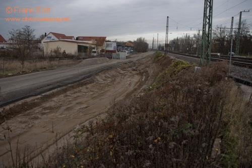 Überwerfungsbauwerk Dortmunder Straße - Blickrichtung Norden