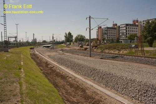 Gleisbereich Nord - Blickrichtung S�d