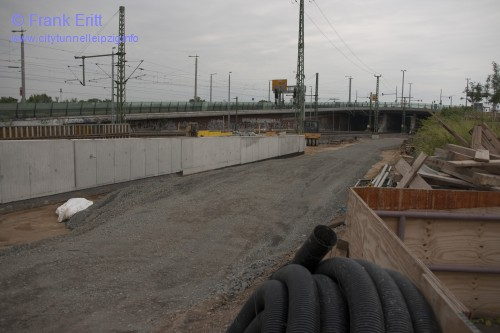 Fußgängertunnel Berliner Brücke - Blickrichtung Süd