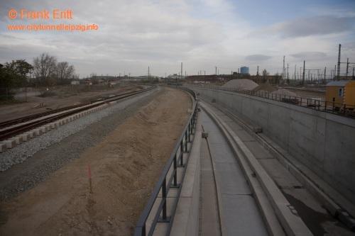 Portal Westrampe - Blickrichtung Nord