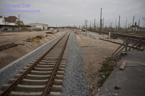 Bahnsteig Gleis 6 - Blickrichtung Nord
