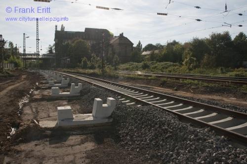Bahnsteig Ost - Blickrichtung S�d