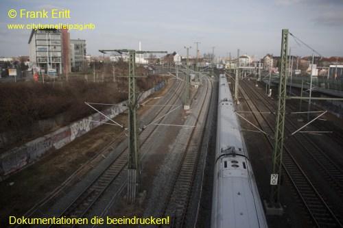 Berliner Brücke - Blickrichtung Nord
