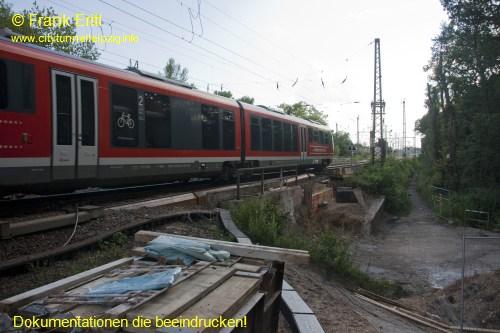Fußgängerunterführung Bauerngraben - Blickrichtung Westen