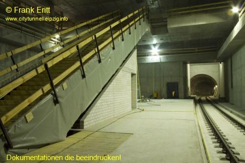 Zugang S�d - Blickrichtung S�d