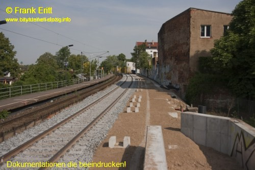 Bahnsteig Ost - Blickrichtung Nord
