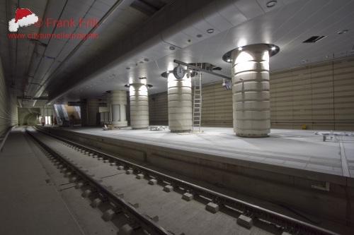 Vorplatz Bahnhof West - Blickrichtung S�d
