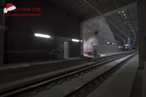 Blick aus der Nordwestecke der Station