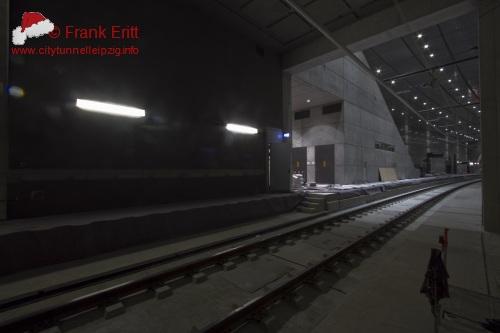 Blick aus der Südostecke der Station