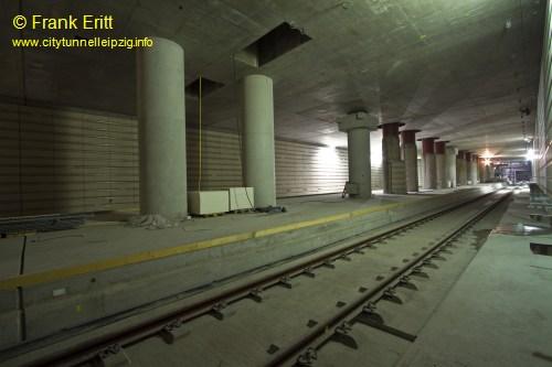 Vorplatz Bahnhof West - Blickrichtung Nord