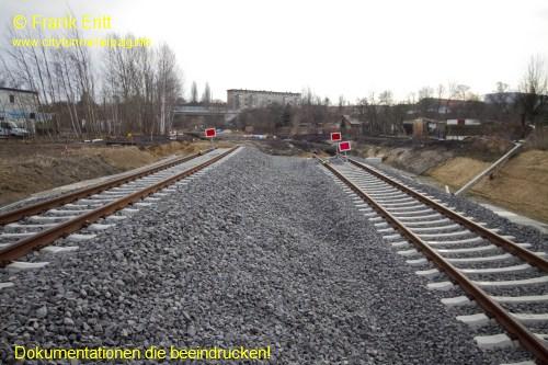 �berwerfungsbauwerk S�d - Ast Ost - Blickrichtung Ost