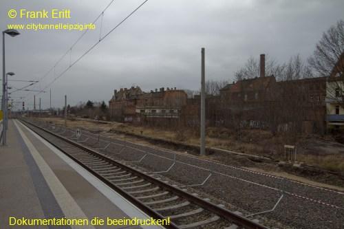 Bahnsteig Ost - Blickrichtung Süden