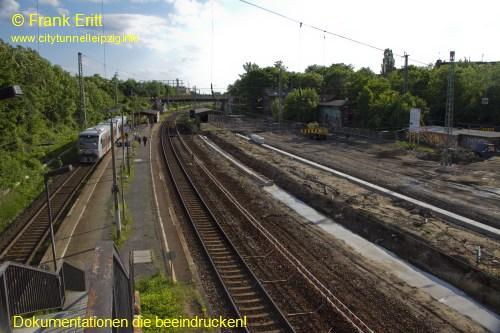 alte Zugangsbr�cke - Blickrichtung S�d
