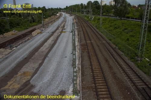 Fu�g�ngerbr�cke Probstheidaer Stra�e Nord