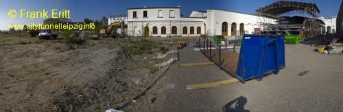 180 Grad Bild Ende Station