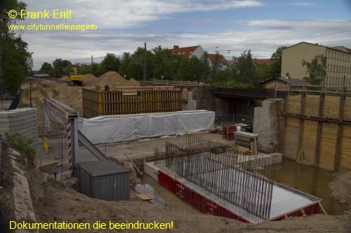 E� Rathausstra�e - Blickrichtung Nord