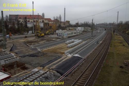 alte Zugangsbr�cke - Blickrichtung Nord
