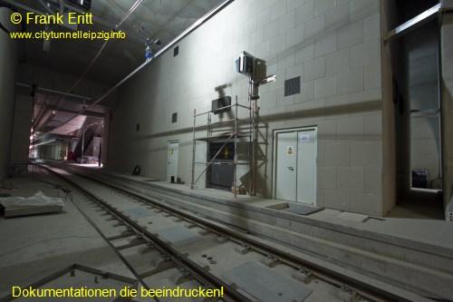 Blick aus der S�dwestecke der Station
