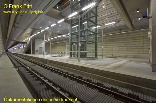 Blick aus der Nordostecke der Station